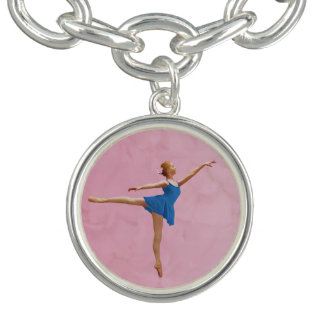 Ballerina in Arabesque Position, Customizable