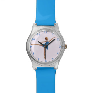 Ballerina in Arabesque Position Customizable Watch