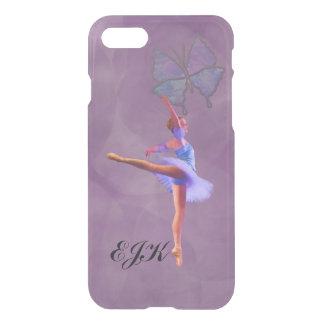 Ballerina in Arabesque Position, Monogram iPhone 7 Case
