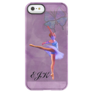 Ballerina in Arabesque Position, Monogram iPhone 6 Plus Case