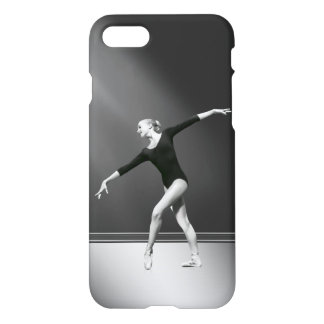 Ballerina in Black and White iPhone 7 Case