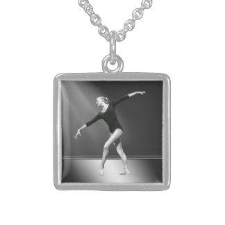 Ballerina in Black and White Pendants