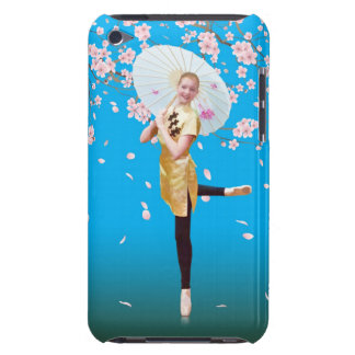 Ballerina in Cherry Blossoms iPod Case Mate Case-Mate iPod Touch Case