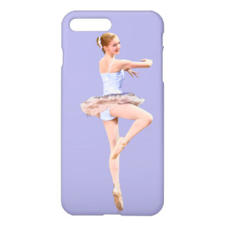 Ballerina in Purple and White Customizable iPhone 7 Plus Case