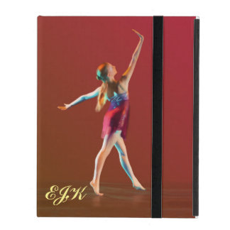 Ballerina in Red, Monogram iPad Cover