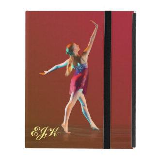 Ballerina in Red, Monogram iPad Cover