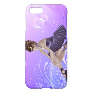 Ballerina iPhone 7 Matte Finish Case, Lilac iPhone 7 Case