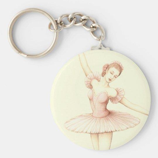 Ballerina Key Ring