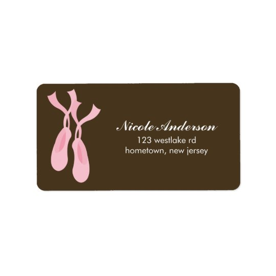 Ballerina Labels
