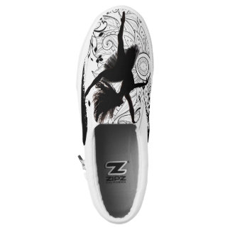 Ballerina lace tennis shoes printed shoes