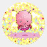 Ballerina Ladybug Sticker