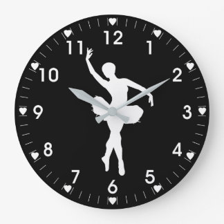 Ballerina Large Clock