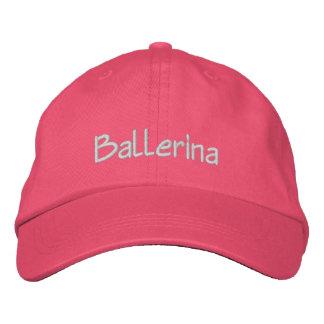 Ballerina Light Text Baseball Cap
