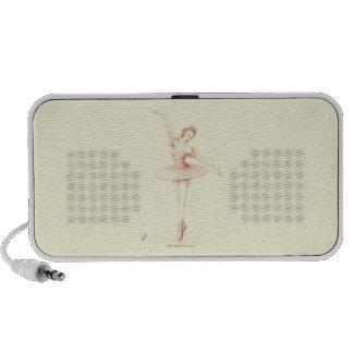 Ballerina Mp3 Speakers