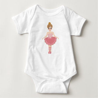 Ballerina, my little princess baby bodysuit