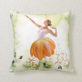 Ballerina of Spring Cushion
