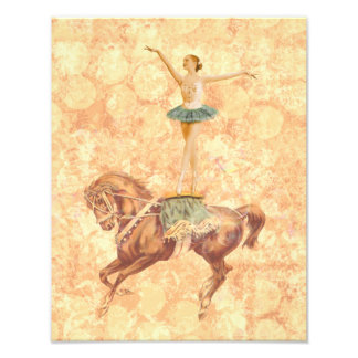 Ballerina on Horseback Art Photo