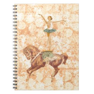 Ballerina on Horseback Notebook