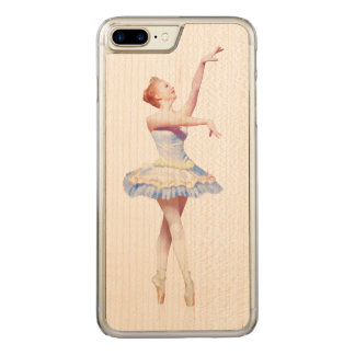 Ballerina On Pointe Carved iPhone 7 Plus Case
