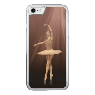 Ballerina On Pointe in Russet Tint Carved iPhone 8/7 Case