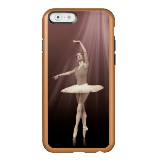 Ballerina On Pointe in Russet Tint Incipio Feather® Shine iPhone 6 Case