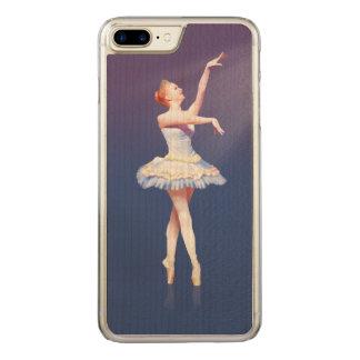 Ballerina On Pointe in Spotlight Carved iPhone 8 Plus/7 Plus Case