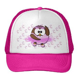 Ballerina owl - glitter hat