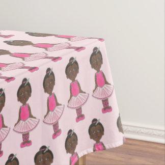 Ballerina Pink Tutu Dance Recital Ballet Dancer Tablecloth
