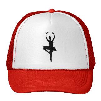 BALLERINA PIROUETTE (ballet dance silhouette) ~~ Cap
