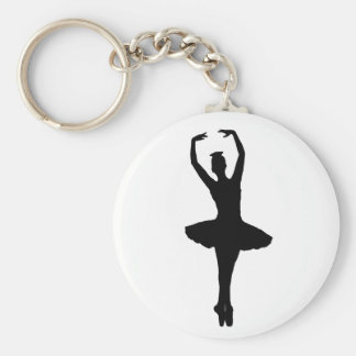 BALLERINA PIROUETTE EN POINTE (Ballet Dancer) ~ Key Ring
