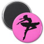Ballerina Pose Fridge Magnet