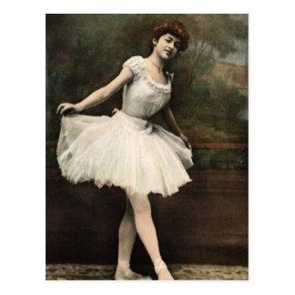 Ballerina Postcard