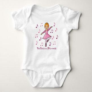 Ballerina Princess Baby Bodysuit