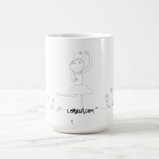 Ballerina Rawk! Coffee Mug