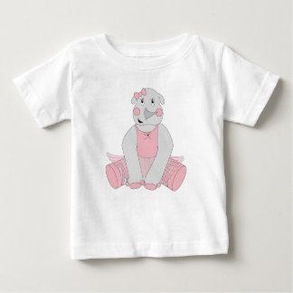 Ballerina Rhino Baby T-Shirt