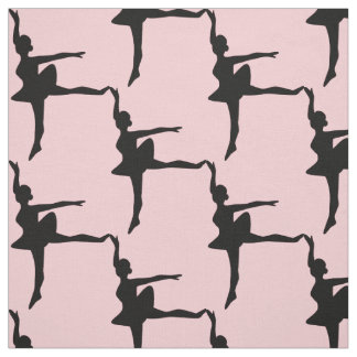 Ballerina Silhouette Custom Color Fabric