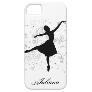 Ballerina Silhouette iPhone 5 Case