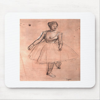 Ballerina sketch by Degas pretty ballet dancer art Mousepad