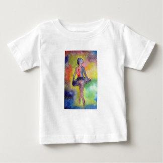 Ballerina Space Watercolor BabyT-Shirt Baby T-Shirt