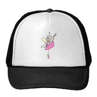 Ballerina Stick Figure Hat