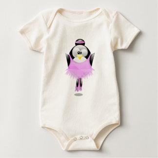 Ballerina Tux Baby Bodysuit