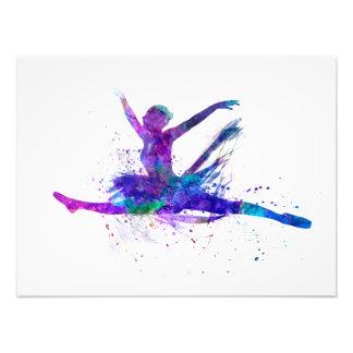 Ballerina Woman ballet to dancer dancing Photographic Print