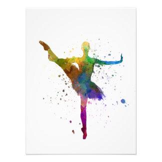 Ballerina Woman ballet to dancer dancing