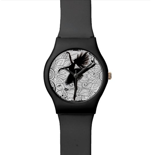 Ballerina wrist watch