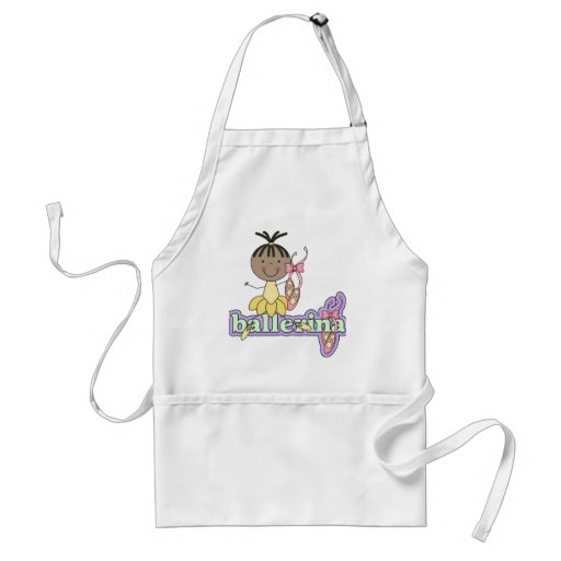 Ballerina - Yellow T-shirts and Gifts Aprons