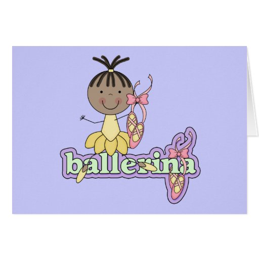 Ballerina - Yellow T-shirts and Gifts Cards