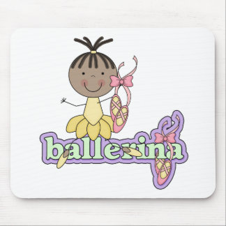 Ballerina - Yellow T-shirts and Gifts Mousepad