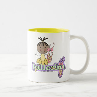 Ballerina - Yellow T-shirts and Gifts Coffee Mug