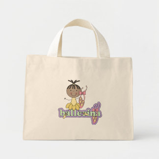 Ballerina - Yellow T-shirts and Gifts Canvas Bags