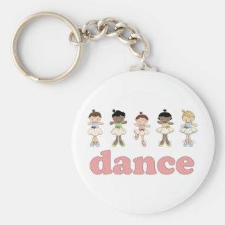 Ballerinas Dance Key Chain